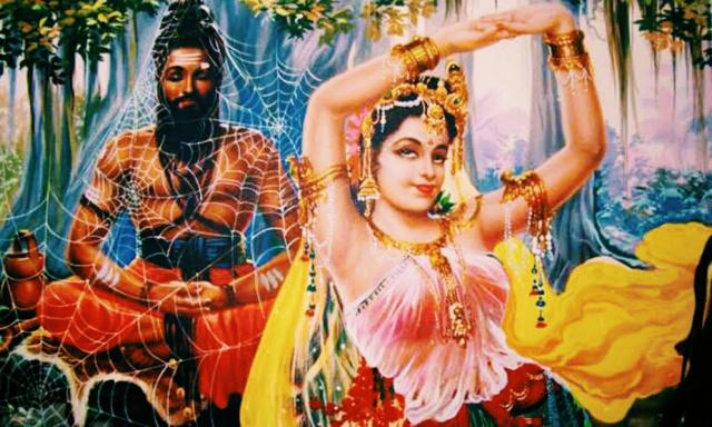 Markandeya Rishi Tatha Apsara ka Sanvaad