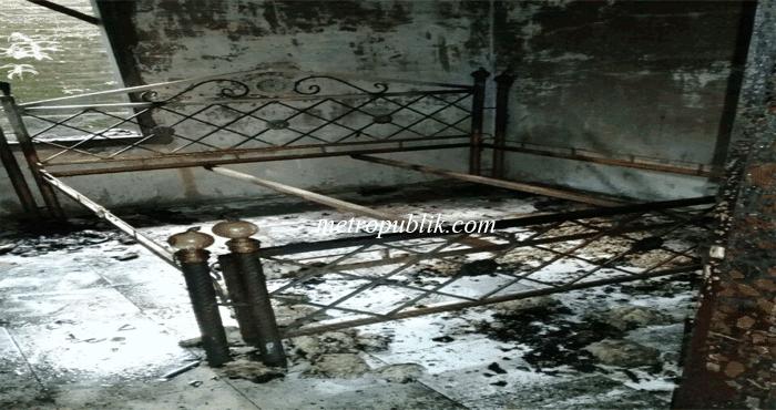 Rumah Yang diKontrak Ishardi Hangus Terbakar, kerugian ditaksir 50 Juta