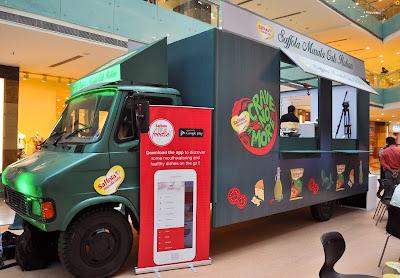 Italian Food Truck Saffola Masala Oats #BreakUpWithJunk