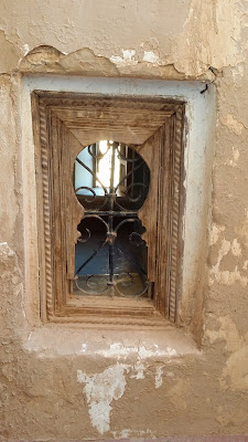 Pequeña ventana en Taourirt