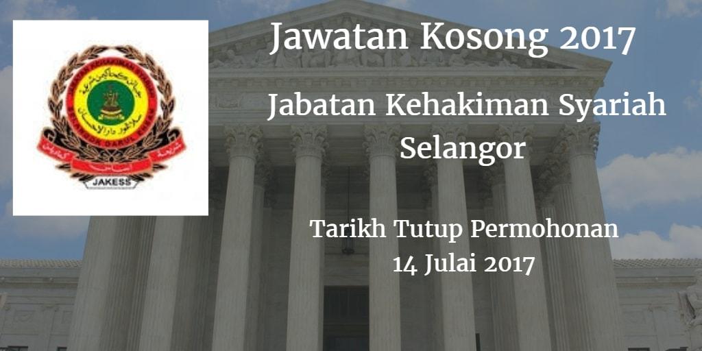 Jawatan Kosong JAKESS 14 Julai 2017