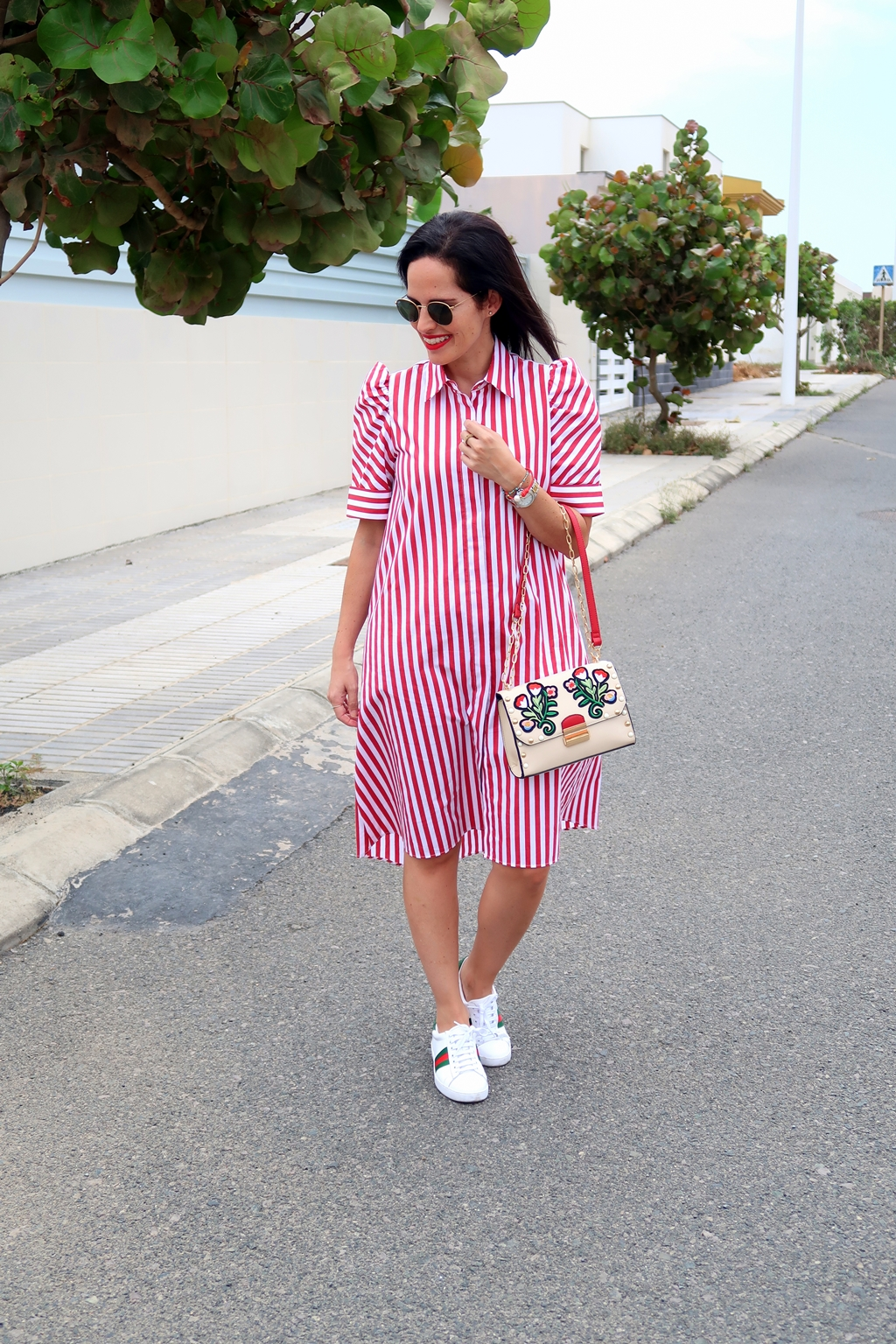 zara-striped-shirt-dress