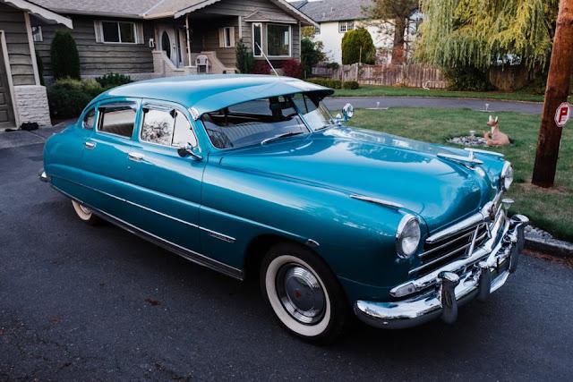 Hudson Commodore 1940s American classic car
