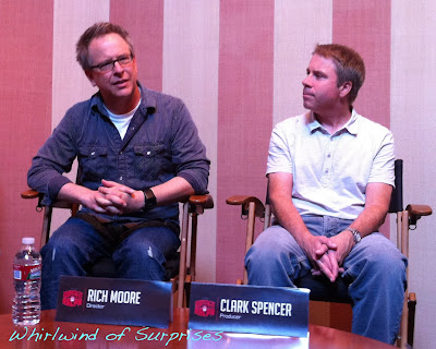 Wreck It Ralph director, Rich Moore, producer, Clark Spencer