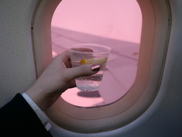 photography, amsterdam, british airways, gin, pink sky,