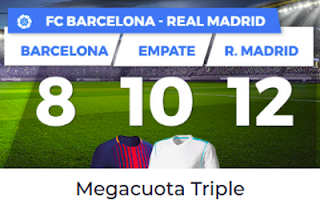 Paston Megacuota Triple Liga Santander: el Clásico 6 mayo