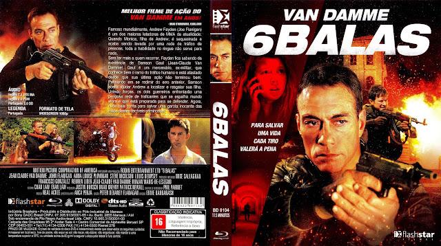 Capa Blu-ray 6 Balas