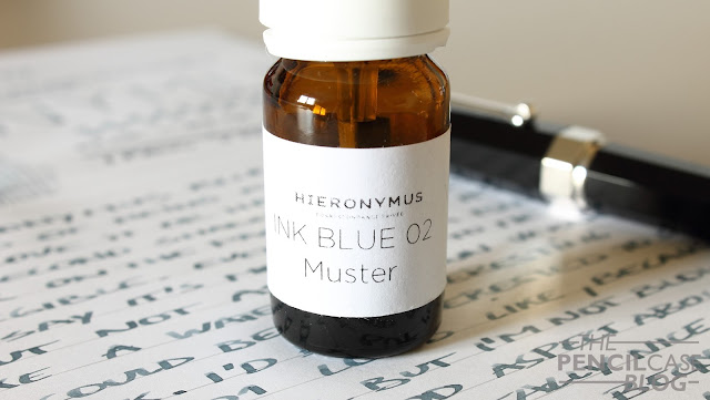 Hieronymus blue 02 ink review