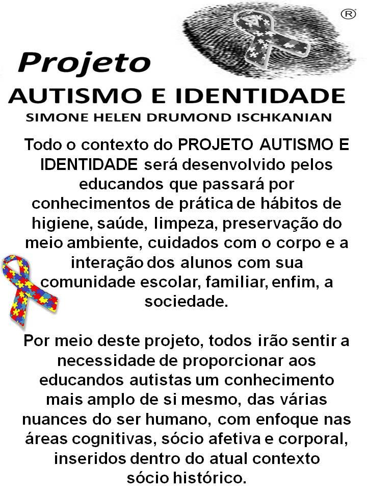Top Projeto Autismo e identidade | Aprendendo com a Tia Debora OF64