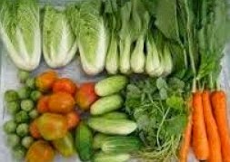sayur sayuran dan buah buahan