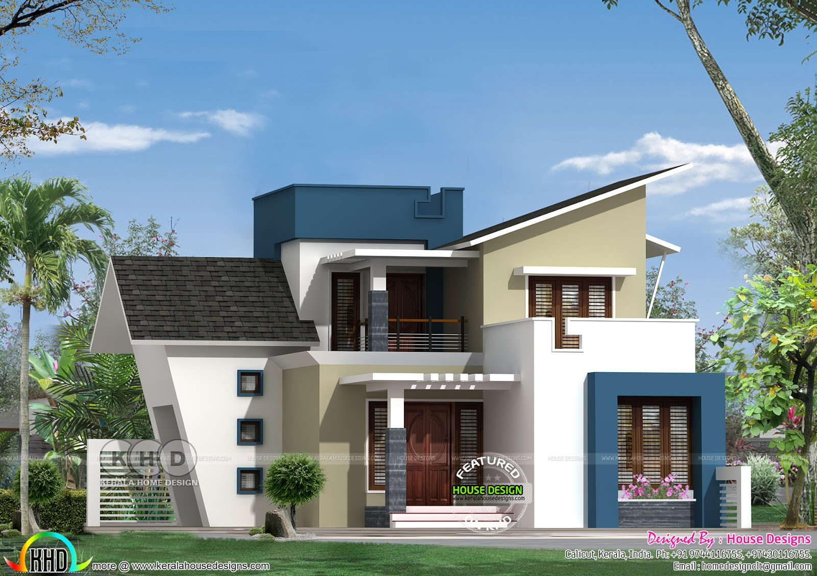 House Designs New Home Design By House Designs From Calicut
