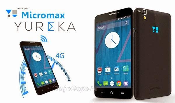 MicromaxYu Yureka: 5.5 inch,1.5GHz Octa-core,4G Cyanogen Smartphone Specs, Price