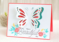 Pop up die cuts - partial die cutting - video  - Betsy Veldman