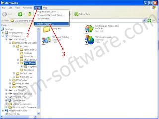 Start Menu di Windows XP