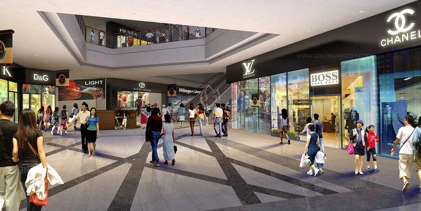 Trung tâm thương mại tại chung cư The K Park Văn Phú