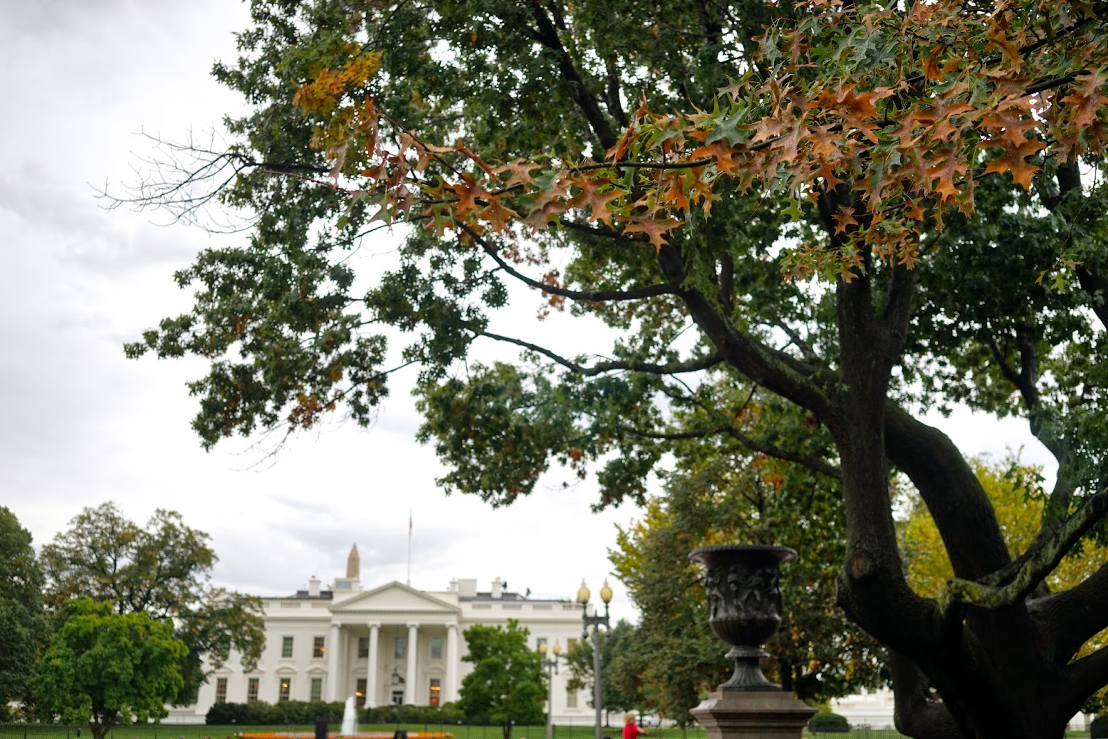 fall the white house