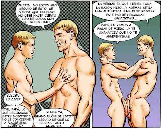relatos gay el paquete de mi hijo