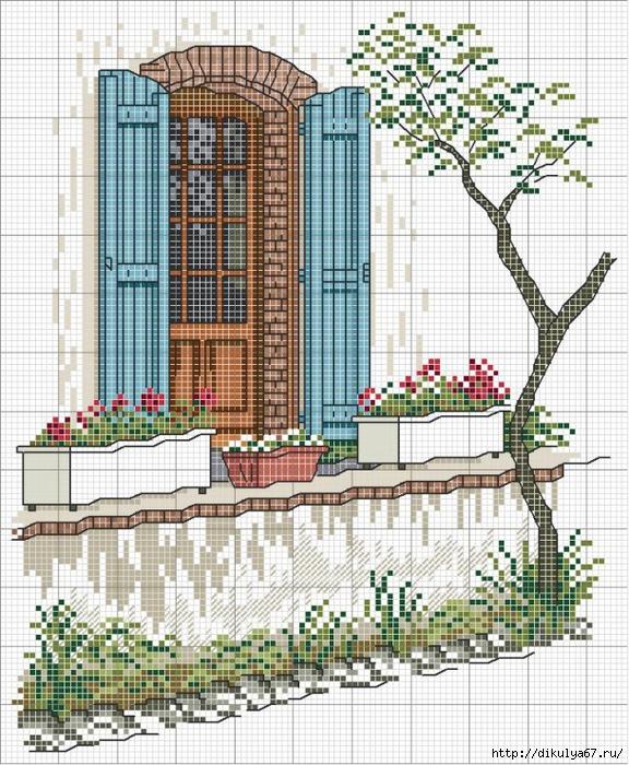 Kanaviçe Pencere Şeması