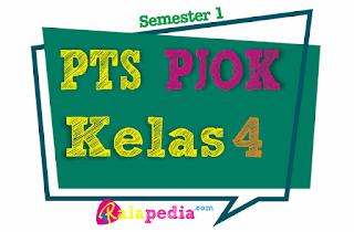 Soal PTS PJOK Semester 1 Kelas 4 SD dan Kunci Jawaban