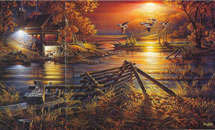 Wallpaper Sioux Falls Terry Avon Redlin Landscape Wildlife Painter Tutt Art