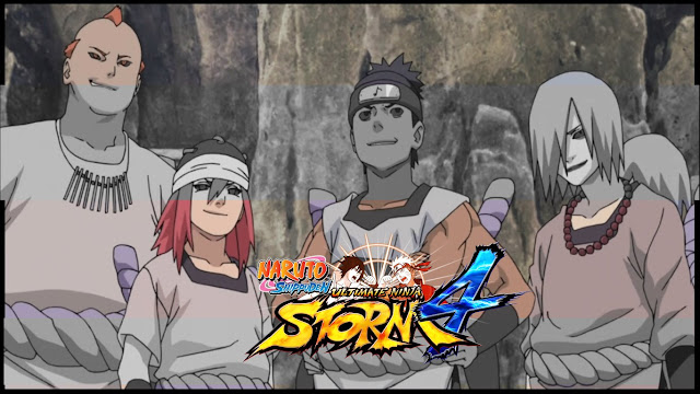 Naruto Shippuden Ultimate Ninja Storm 4 quarteto do som