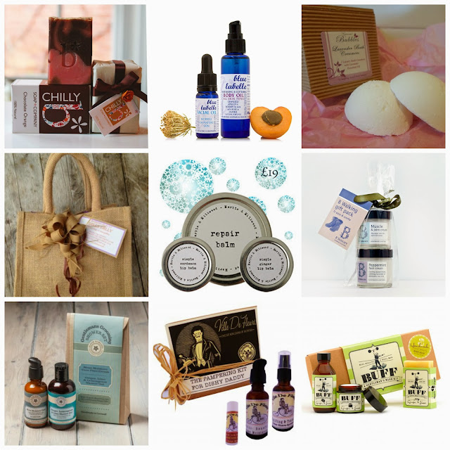 Natural Skincare Christmas Gift Guide 2013