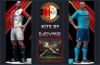 Feyenoord Rotterdam kits 16-17