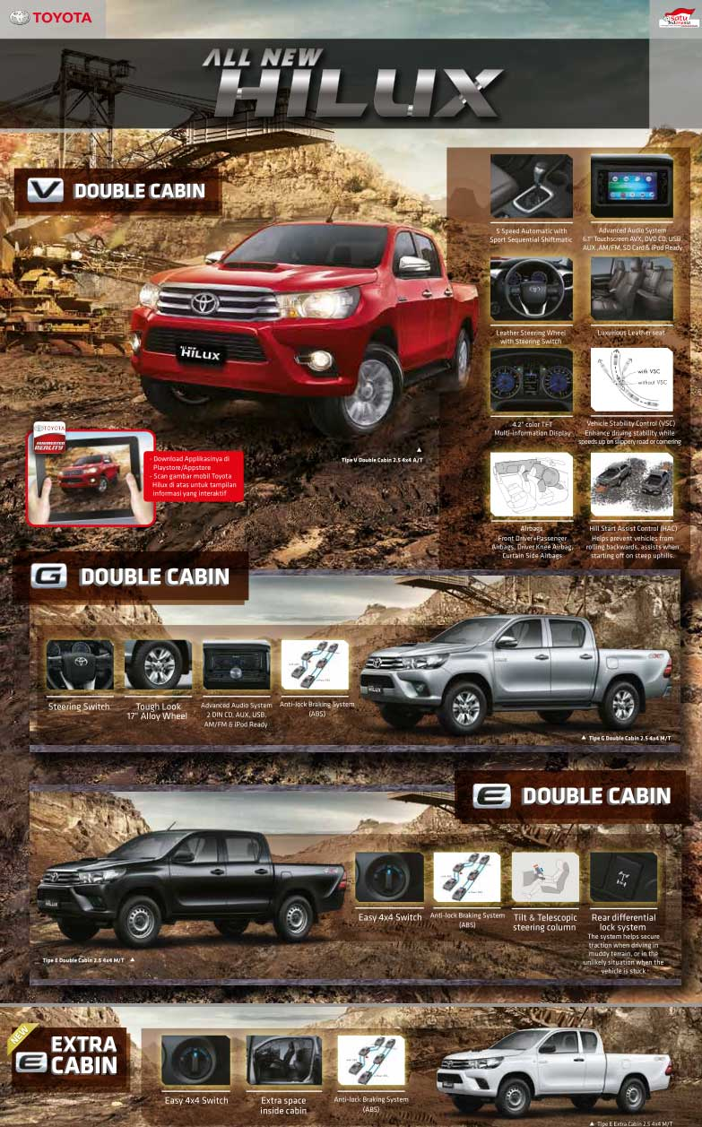 Browsur Toyota Hilux Pekanbaru Riau