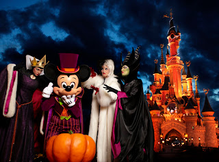 Festival Halloween à Disneyland Paris