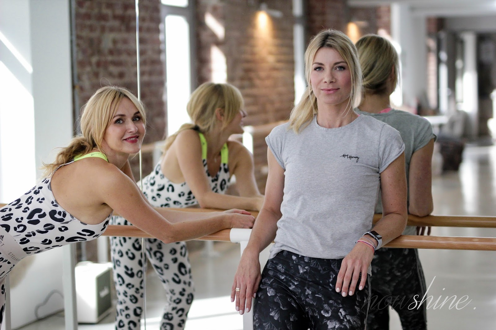 Cornelia Dingendorf und Nowshine bei Youpila in Düsseldorf - Nowshine Fitness über 40