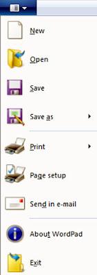 WordPad Button