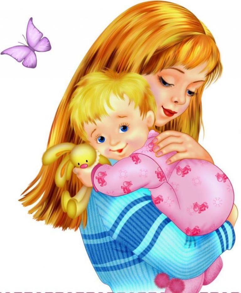 Картинка о маме для доу