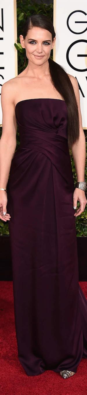 Katie Holmes 2015 Golden Globes