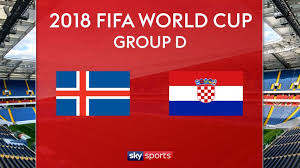 Croatia vs Iceland Live Streaming online Today 26.06.2018 World Cup Russia 2018