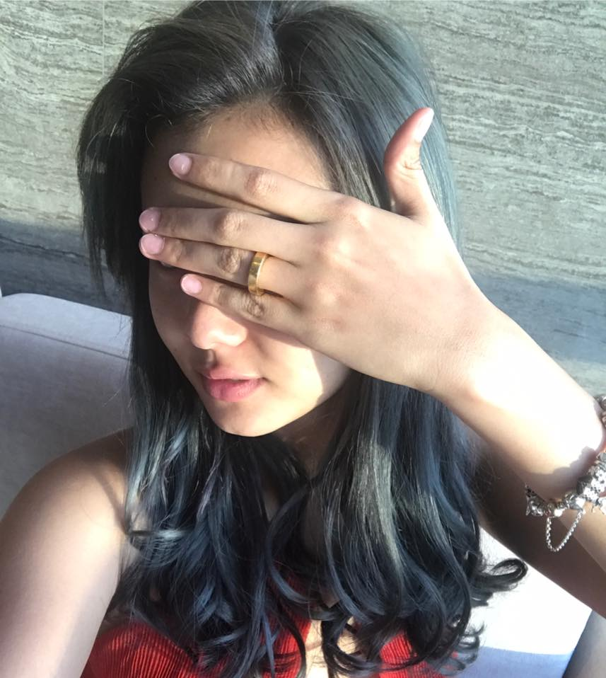 Shwe Mhone Yati Shows Off Her Engagement Ring