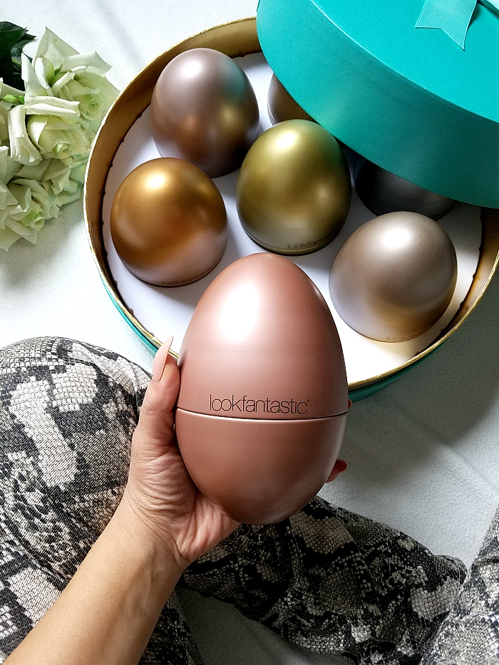 lookfantastic - The Beauty Egg Collection 2019 review, inhalt, content, unboxing