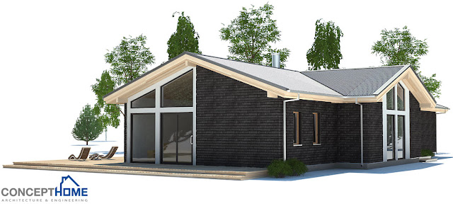 affordable home plans  economical modern home plan ch192