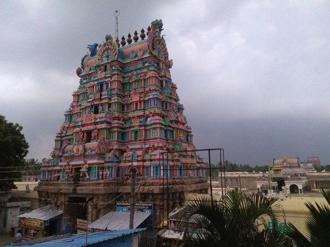 Sri Swetharanyeswarar Temple Gopuram