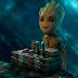 Baby Groot, de 'Guardiões da Galáxia', ganhou uma escultura de chocolate!
