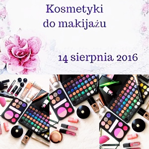 # 122 OPRÓŻNIAMY NASZE KOSMETYCZKI - KOSMETYKI DO MAKIJAŻU cz.2
