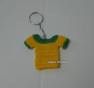 seleção brasileira, camisa seleção, camisa verde amarela, camisa Brasil crochê