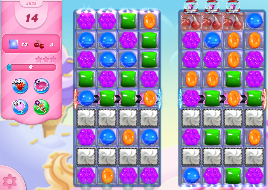 Candy Crush Saga level 2925