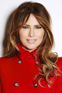 ميلانيا ترامب (Melania Trump)، عارضة سلوفينية سابقة وزوجة الرئيس الامريكي دونالد ترامب