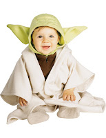 COSTUM YODA STAR WARS BEBE