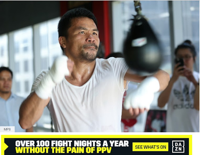 Manny Pacquiao juggling his two jobs in build-up to Adrien Broner