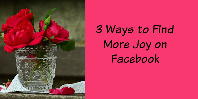 Facebook causes depression, Ways to Find Joy in life and Facebook