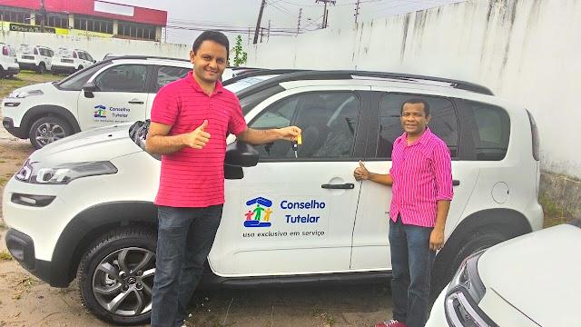São Félix de Balsas:  Unicectma faz a entrega de veículo para Conselho Tutelar
