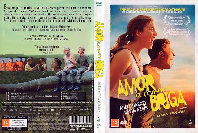 Capa DVD Amor à Primeira Briga