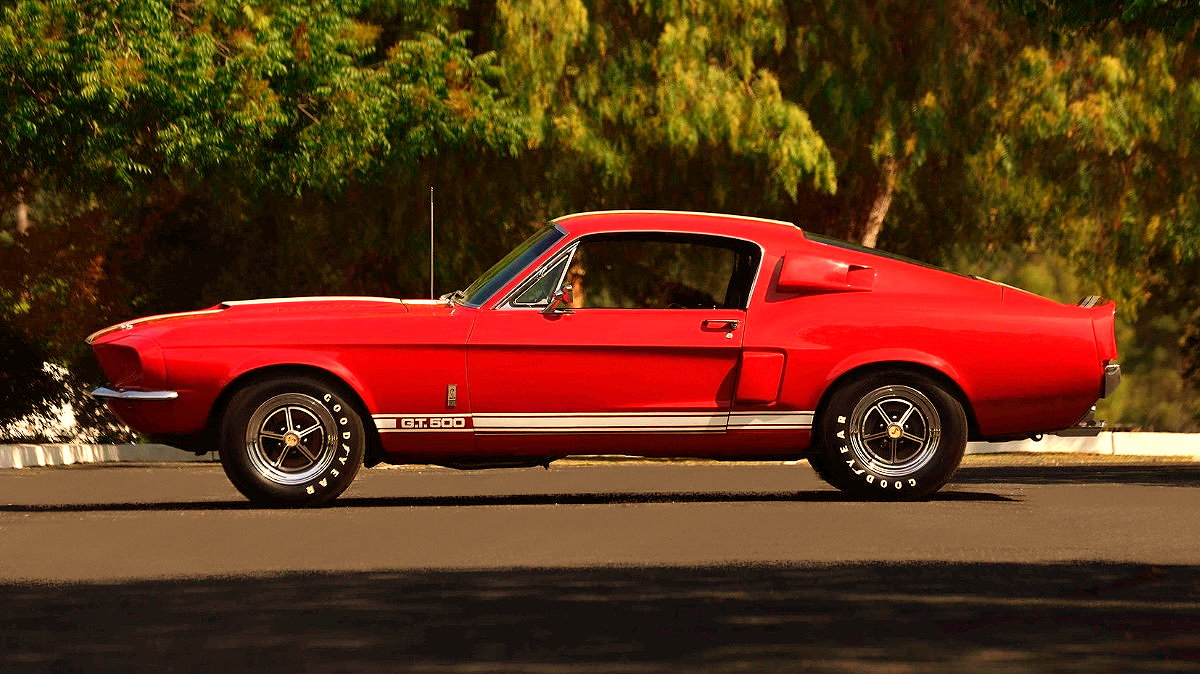 1967 Ford Mustang Fastback Red