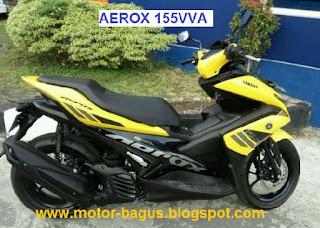Pasaran harga motor Yamaha Aerox 155 cc second